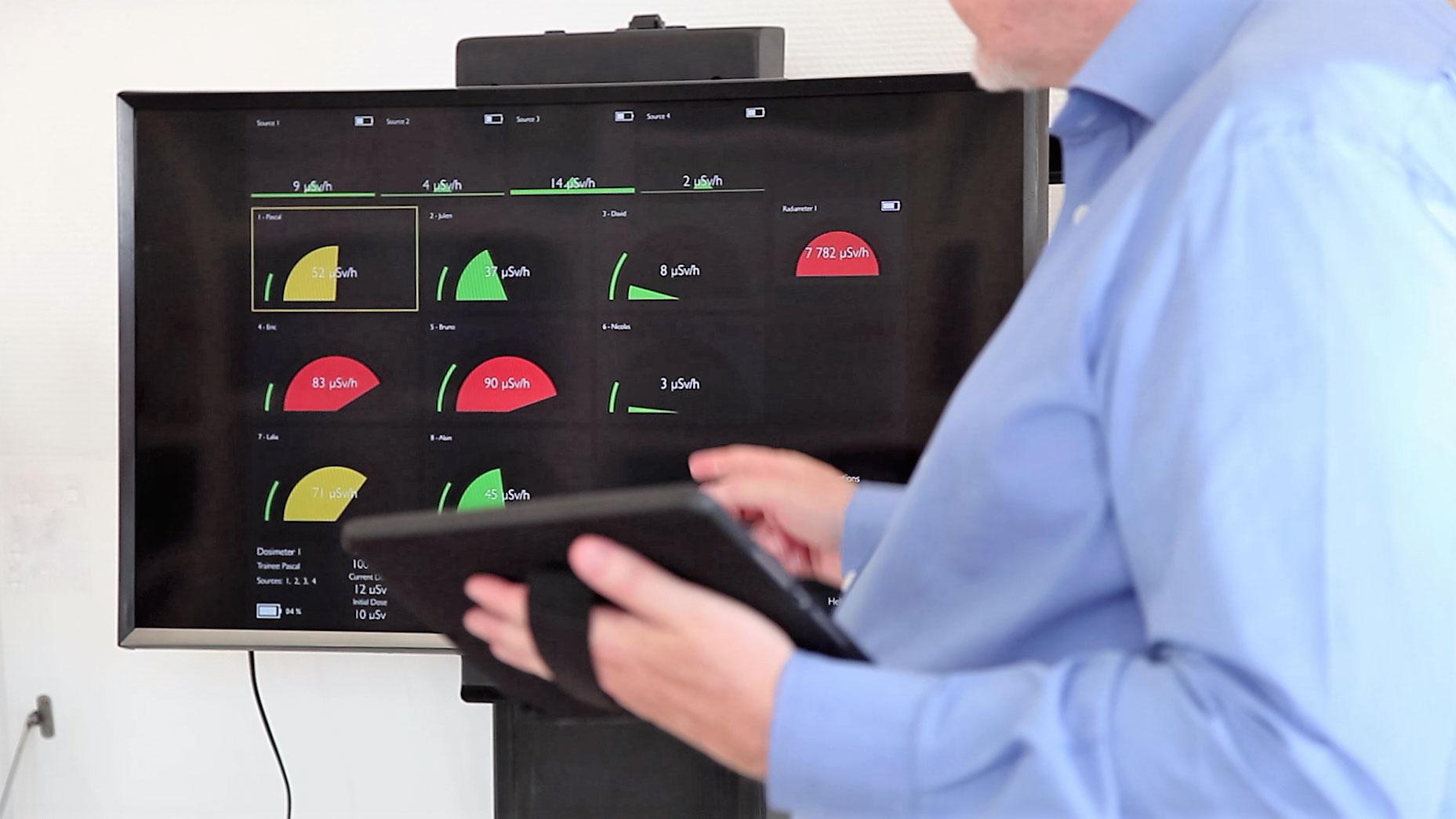 Restitution de la formation sur La tablette tactile du DosiCase